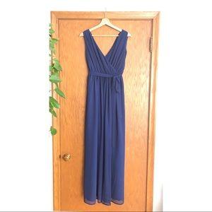 ModCloth Navy Bridesmaid Dress